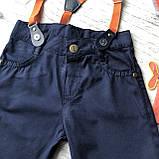 Летний джинсовый костюм на мальчика. Размер 74 см, фото 2