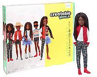 Кукла Creatable World Созидаемый мир. Чёрные кудрявые волосы., фото 1
