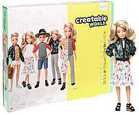 Кукла Creatable World Созидаемый мир. Светлые волнистые волосы.