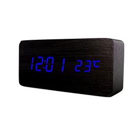 Настільні годинники з синім підсвічуванням VST-862-5