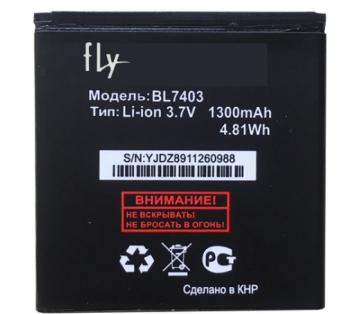 Акумулятор (Батарея) для Fly IQ432 BL7403 (1300 mAh), фото 2