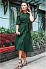 Летнее льняное платье -рубашка, фото 4