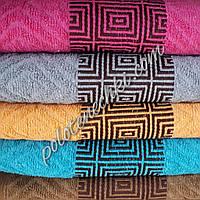 Махровое лицевое полотенце Квадратики, фото 1