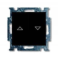 Кнопка 1-тактовая для жалюзи Basic55 черный шато (2026/4 UC-95-507)