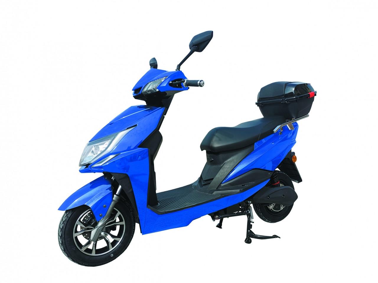 Электроскутер BN-WF, 72В 20А, 1000Вт, синий