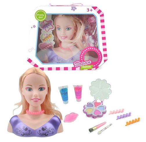 Кукла игрушка для причесок.Игрушечная кукла манекен для причесок и макияжа.