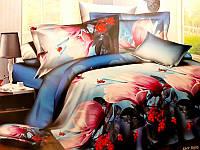 Комплект постельного белья №пл185 Двойной, фото 1