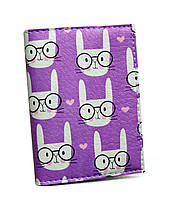 Визитница для карточек Кролик в очках