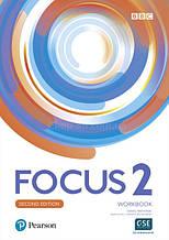 Focus 2 Second Edition Workbook / Рабочая тетрадь