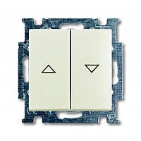 Кнопка 1-тактовая для жалюзи Basic55 белый шале (2026/4 UC-96-507)