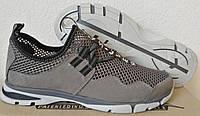 Silver active мужские летние кожаные туфли кроссовки сетка, фото 1