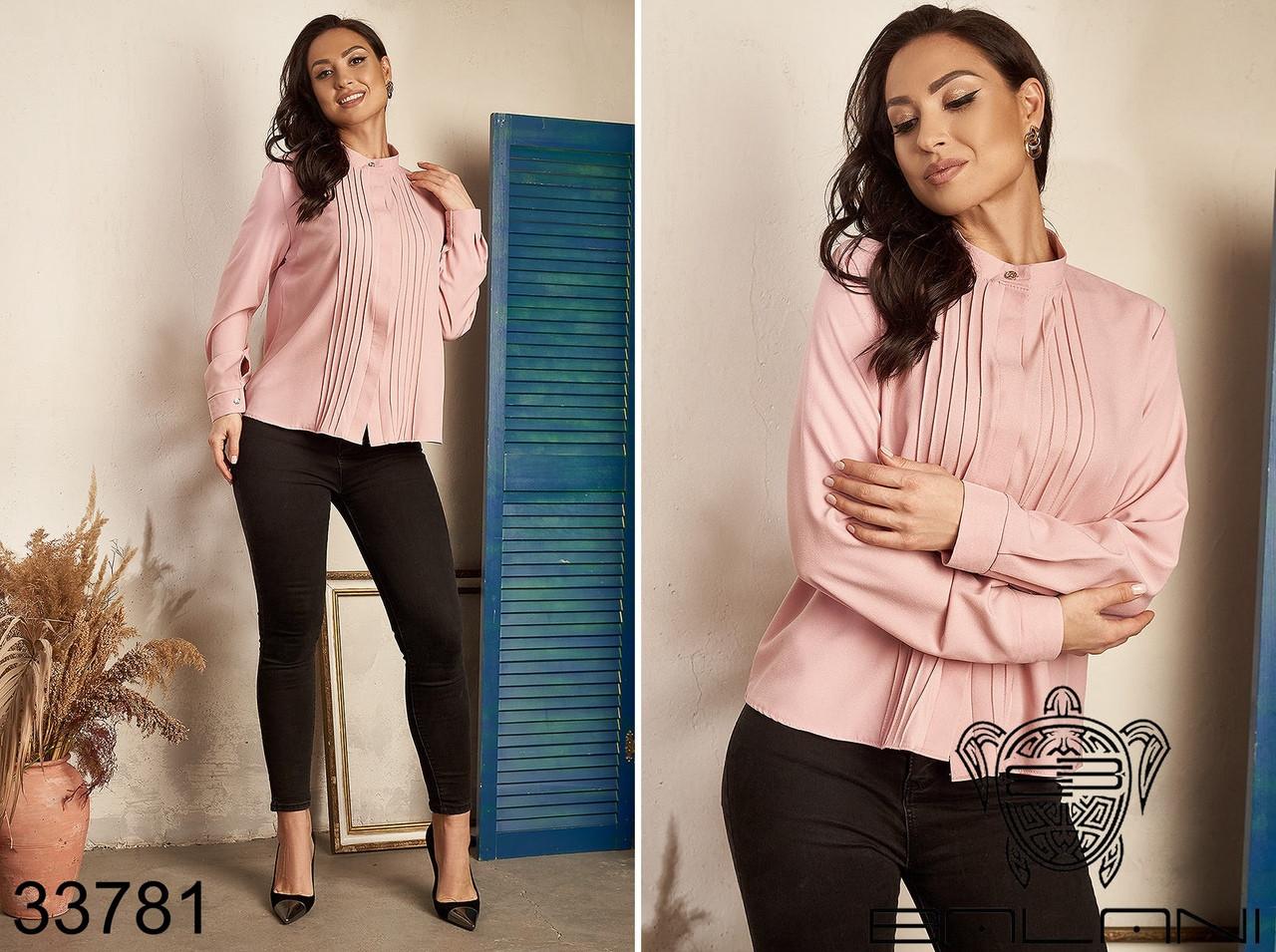Строгая и элегантная женская блуза Размер : 50-52,54-56