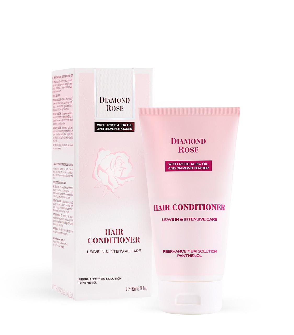Бальзам для волос интенсивный уход/Hair conditioner leave in & intensive care Diamond Rose