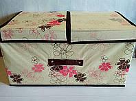 Короб на 2 секции, органайзер, ящик для вещей