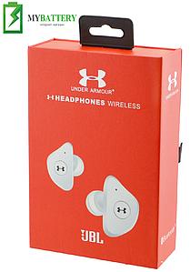 Наушники Bluetooth стерео гарнитура JBL Under Armour UA-X 8H (белые)