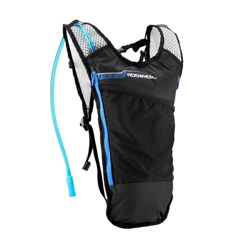 Рюкзак с питьевой системой Roswheel 15937 черный / голубой