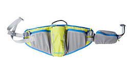Напоясная сумка Roswheel 15934 серый / желтый