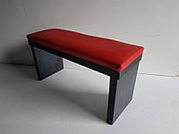 Подставка для маникюра Красный верх - черный низ 16*32*11 см