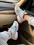 Женские замшевые кроссовки Adidas Falcon White (Адидас Фалькон белые), фото 2