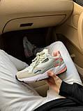 Женские замшевые кроссовки Adidas Falcon White (Адидас Фалькон белые), фото 5