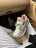 Женские замшевые кроссовки Adidas Falcon White (Адидас Фалькон белые), фото 4
