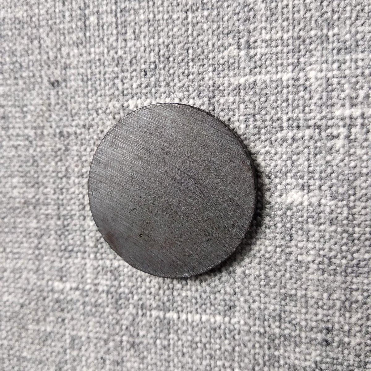 Магнит шайба 20х3 для сувениров