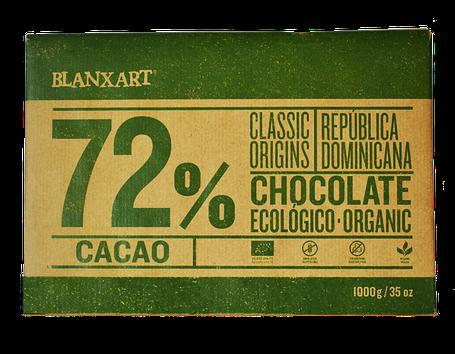 Органічний чорний шоколад 72 % Blanxart, фото 2