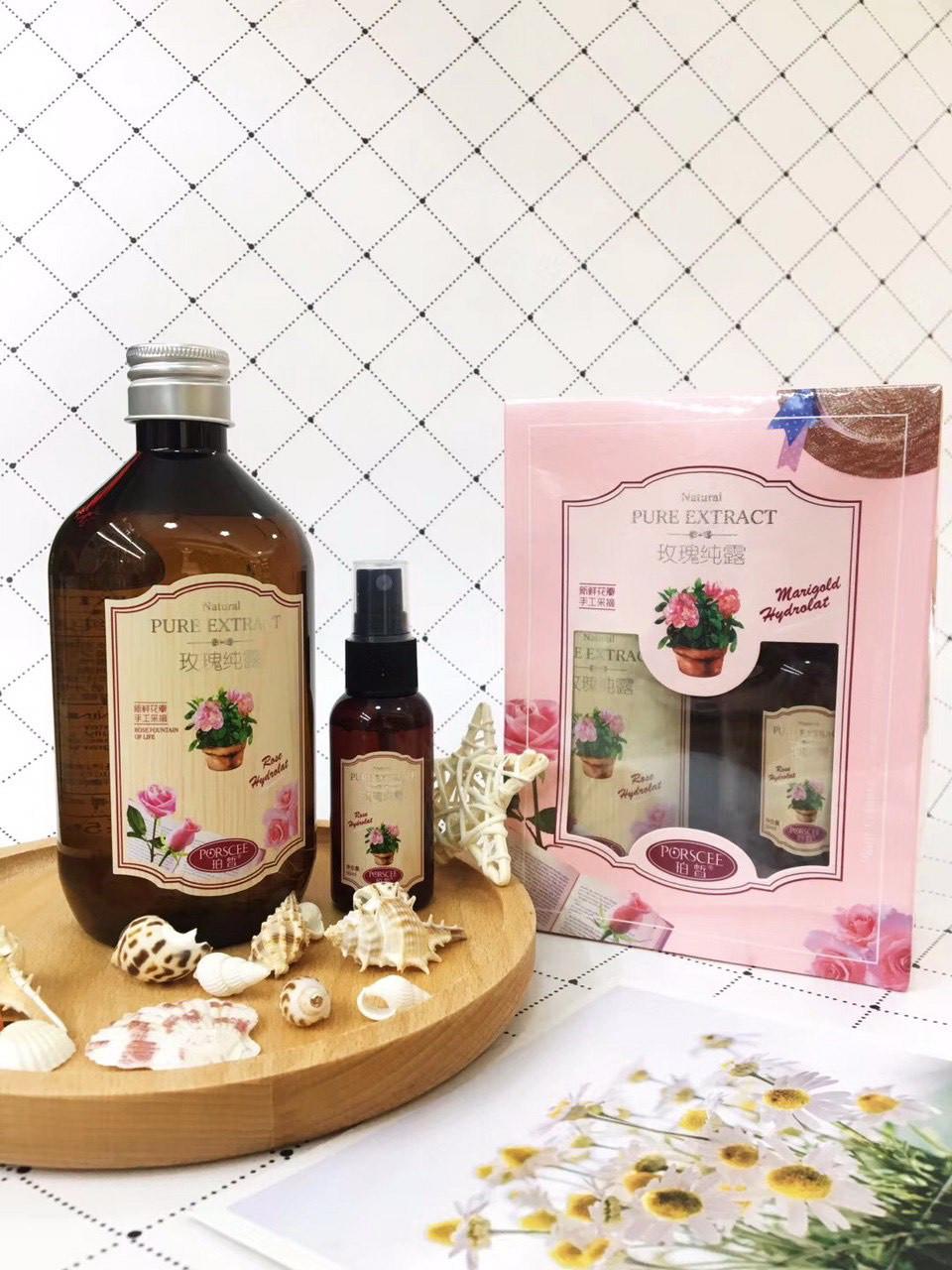 Корейский натуральный увлажняющий тонер с экстрактом розы Rose Extract Toner
