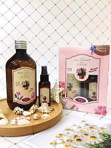Натуральный увлажняющий тонер для лица с экстрактом розы Rose Extract Toner 500мл