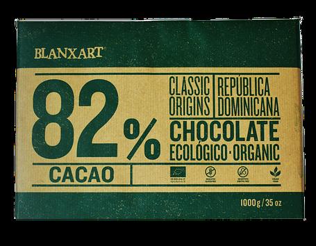 Органічний чорний шоколад 82 % Blanxart, фото 2