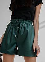 Стильные женские шорты из эко-кожи
