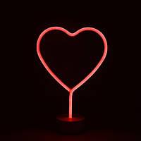 "Ночной светильник Neon ""Heart"", фото 1"