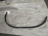 Губа (юбка) переднего бампера Рено Меган 3 09-13, фото 2