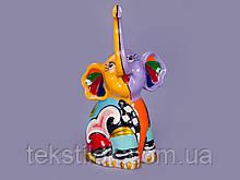 Статуэтка Цветной слон 8 см.