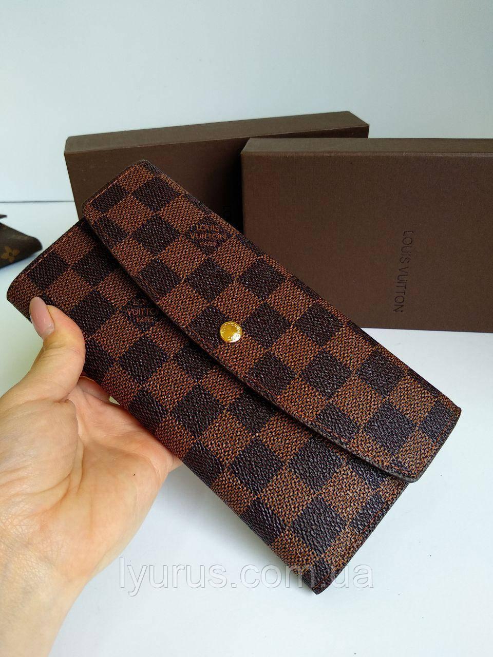 Женский кошелек Louis Vuitton канва коробка