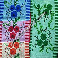 Махровое кухонное полотенце Маки