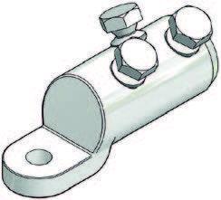 Механічний кабельний накоечник 240-400 мм2 ML20/4-12-1