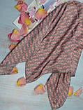 Женский Платок Шелковый брендовый Dior Диор. 90*90 см., фото 5