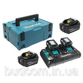 Набор аккумуляторов LXT Makita BL1850B 18 В (197626-8)