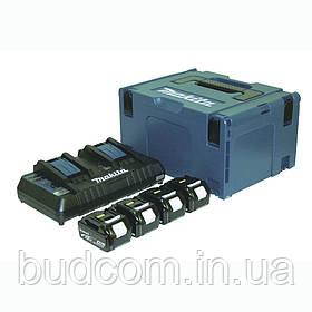 Набор аккумуляторов LXT Makita BL1840B 18 В (197156-9)