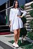 Летнее льняное платье -рубашка, фото 3