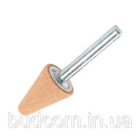 Коническая шлифовальная головка 19 мм К60 хвостовик 6 мм (741615-1)