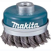 Чашечная щетка c витой проволки 100 мм Makita (D-29290)