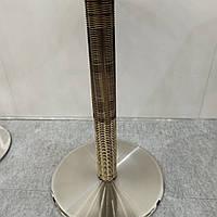 Опора , база стола ротанг из нержавеющей стали высота 72 см. нога ротанг