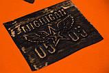 Світшот дитячий SmileTime Michigan, помаранчевий, фото 3