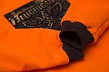 Світшот дитячий SmileTime Michigan, помаранчевий, фото 2