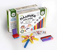 """Іграшка навчальна """"Палички"""" для лічби, кольорові 56шт"""
