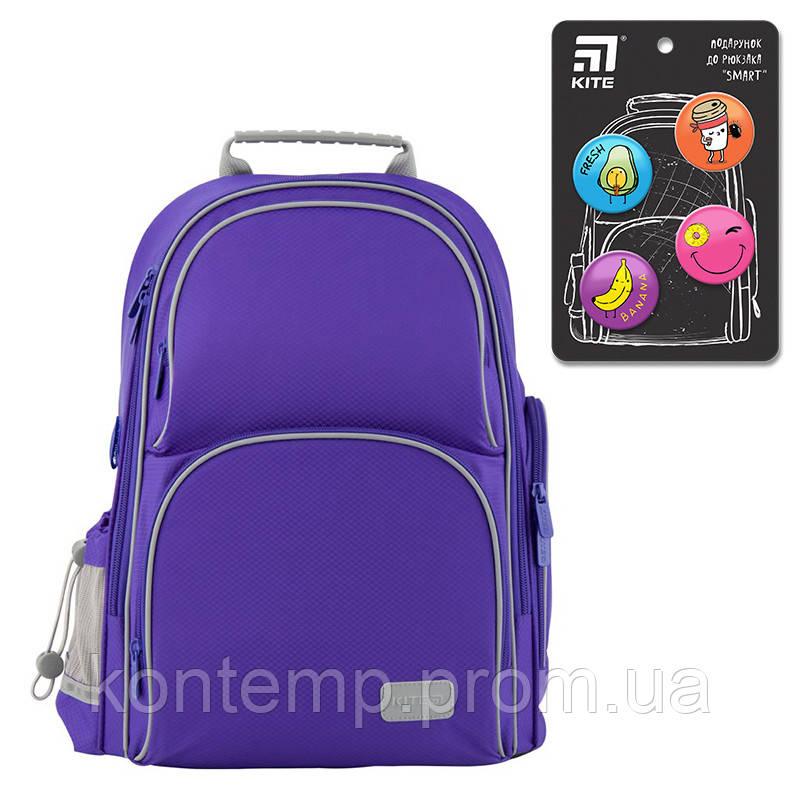 Рюкзак шкільний каркасний Kite Education K19-702M-3 Smart синій