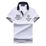 Aeronautica Militare original РІЗНІ кольори чоловіча футболка поло аеронавтика милитаре, фото 3