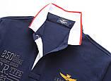 Aeronautica Militare original РІЗНІ кольори чоловіча футболка поло аеронавтика милитаре, фото 8